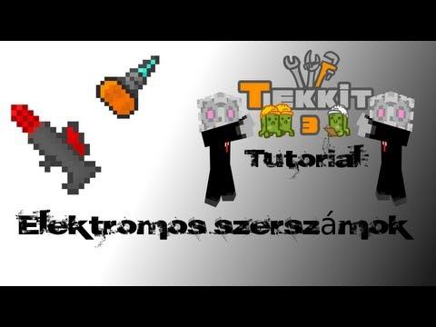Minecraft tekkit érdekességek - Szerszámok (industrial craft - electric tools) [Magyar] - HD
