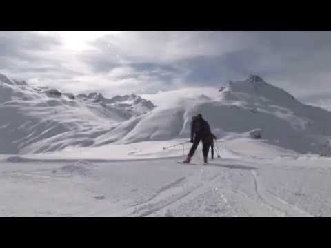 How to use skins to ski uphill