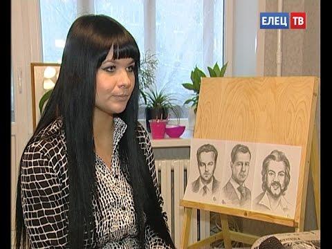 Нашла свое вдохновение: молодая художница из Ельца пишет портреты звезд мировой величины.