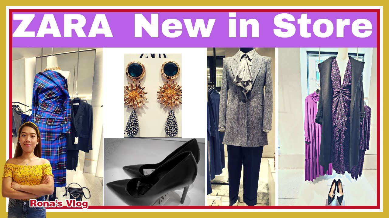 [VIDEO] - New in #Zara October 2019 Collection | Womans Fashion | Bags^Shoes^Dresses^Accessories 4