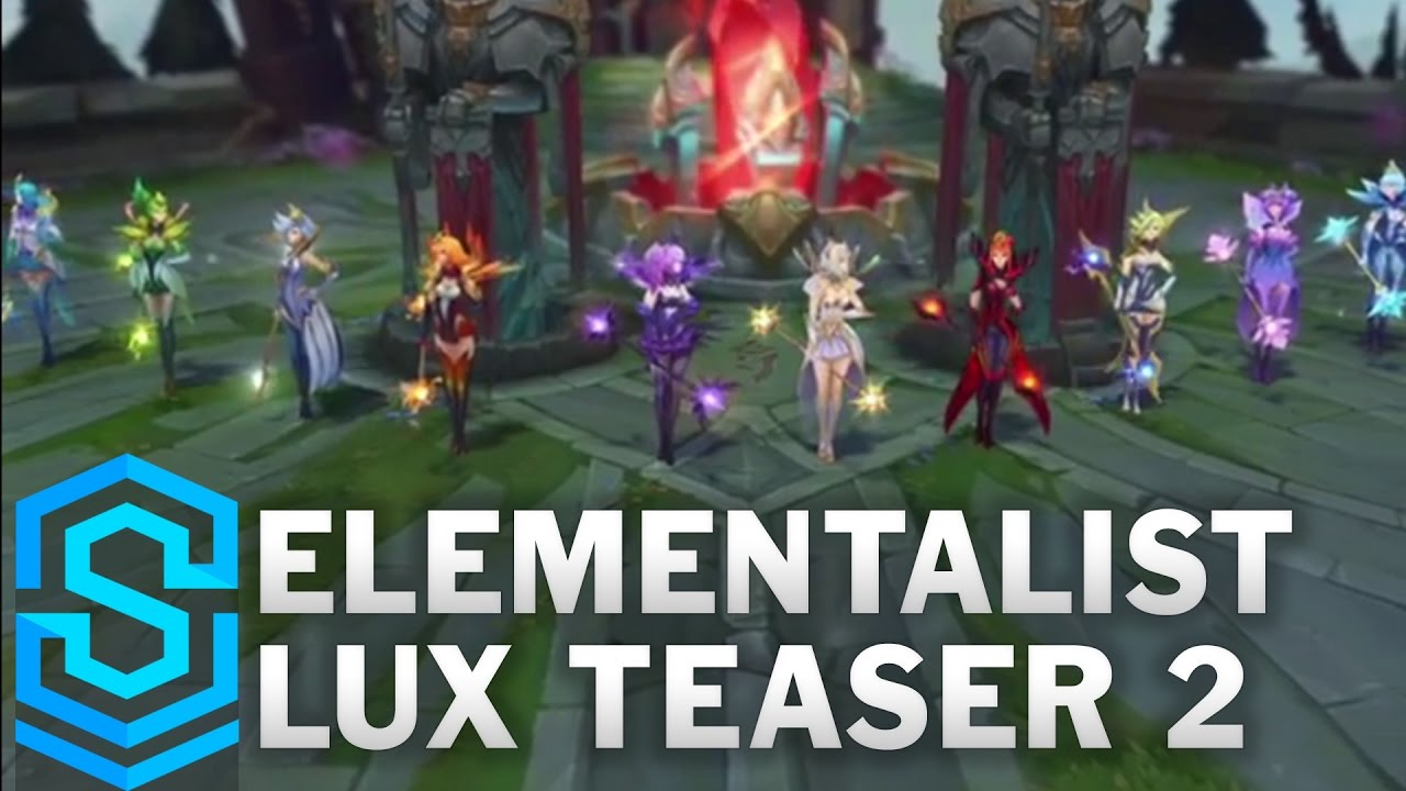 Elementalist Lux Gameplay Teaser - Ultimate Skin - YouTube