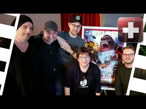 Kino+ #150 | Kong: Skull Island - Roundtable Talk mit Cast-Interviews | 2/2