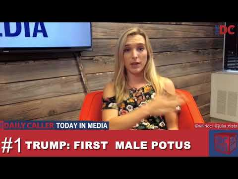 Was Donald Trump the First Male President