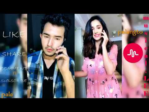 Girls Funny Dialog Musically compilation