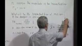 Module 11 - Lecture 4 - Dynamics of Machines