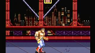 Sega Smashpack Volume 1 - Streets Of Rage 2 (Dreamcast) Game Play