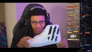 Myth shows his NEW VANS SHOES WITH HIS LOGO