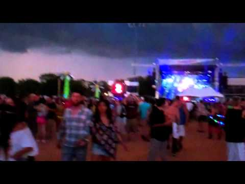 A Walk Through to the Main Stage @ EDC Orlando - Electric Daisy Carnival 2011