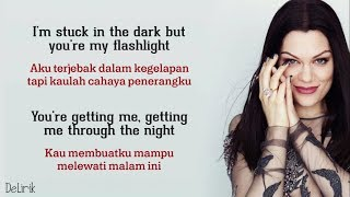 Flashlight - Jessie J (Lyrics video dan terjemahan)