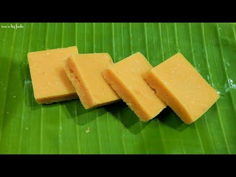 100 %Melting Mysore Pak..!!|||| Soft Mysore Pak Recipe thumbnail