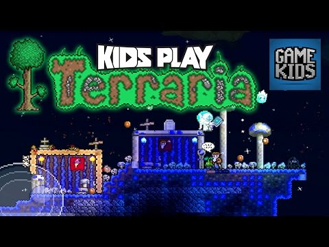 Terraria Mobile Gameplay - Kids Play