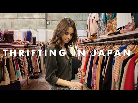 Come Thrifting With Me In Tokyo, Japan + Try On Haul