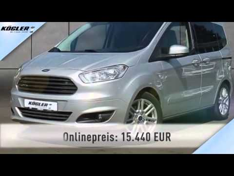 ford tourneo tourneo courier 1 0 ecoboost titanium 25 youtube. Black Bedroom Furniture Sets. Home Design Ideas