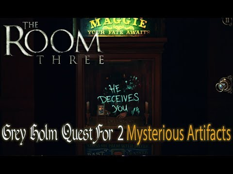 THE ROOM 3: GREY HOLM Quest For The 2 Mysterious Artifacts
