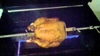 Cooking Rotisserie Chicken On My Weber Spirit
