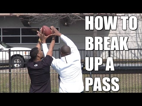 How to Break Up a Pass with Roy Williams