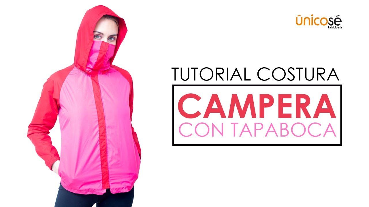 DIY Tutorial   Costura Chaqueta Campera Con Tapaboca