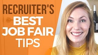 Prepare for Job Fair - STAND OUT by doing this!