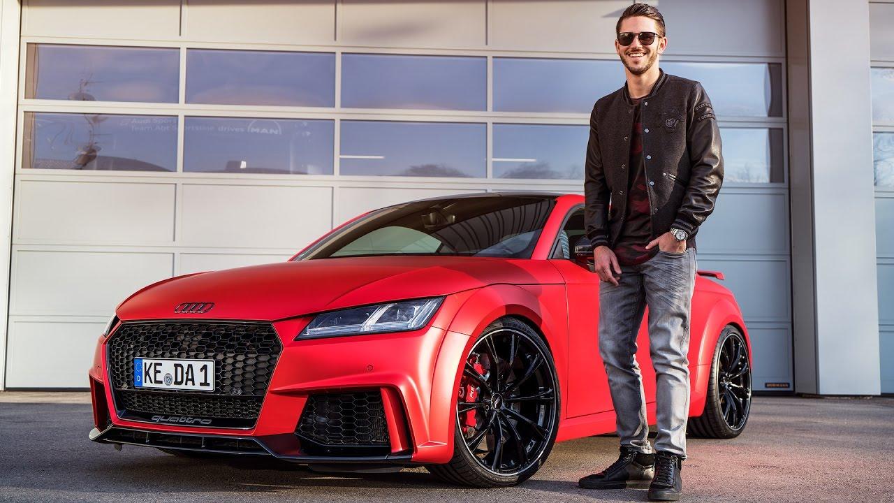 Audi Tt Rs Die Neue Folie Ist Der Hammer Youtube