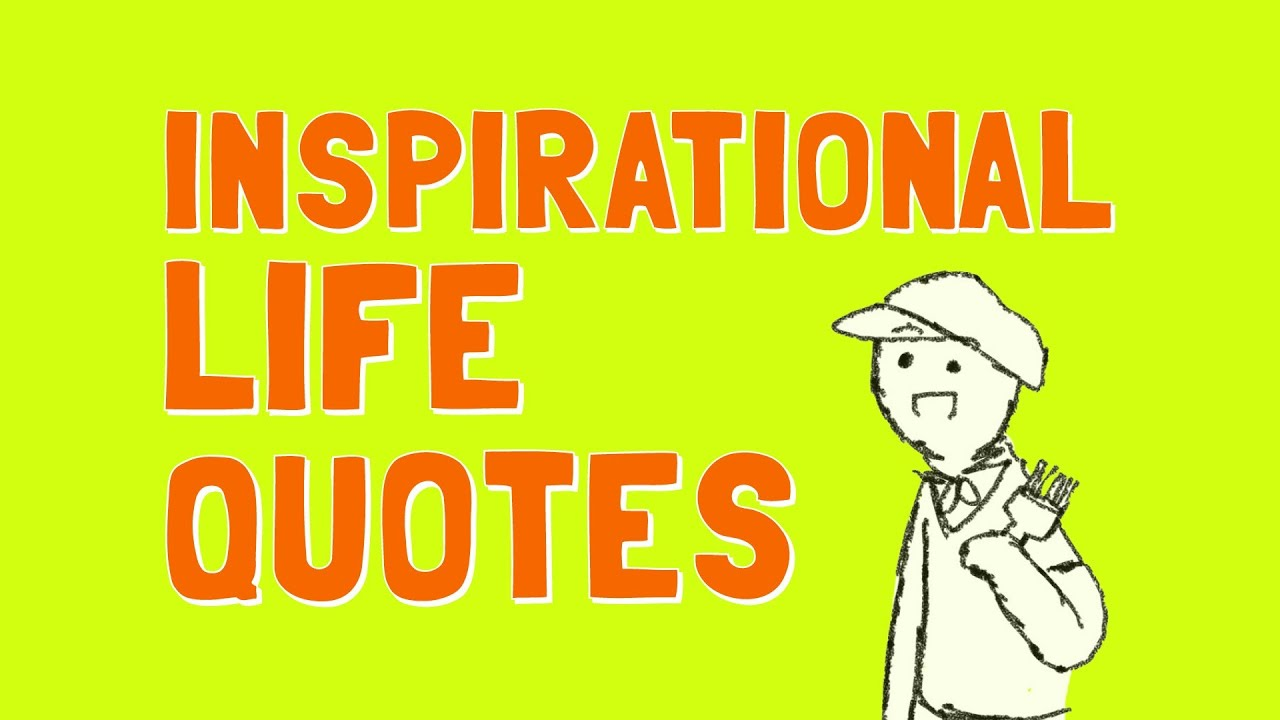 Famous Quotes About Life Inspirational Life Quotes From Five Famous Speeches  Youtube