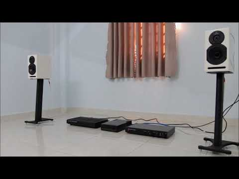 Musical Fidelity Typhoon Pre - Power Amplifier and Studio Speaker
