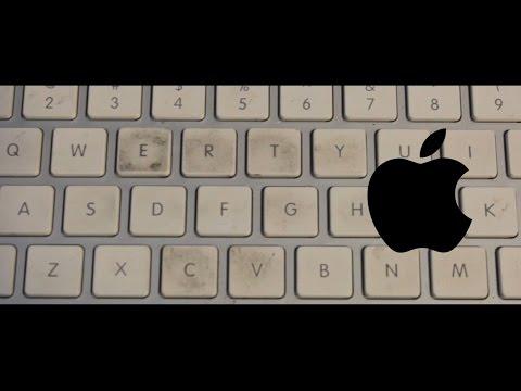 Apple's Dirty Keyboard- hack so it stays clean longer.