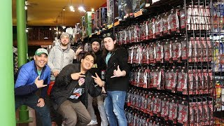 Toy Hunting for the first time at KOKOMO TOYS! w/ Cincy Nerd, Josh Pence, foxxy & toybills!
