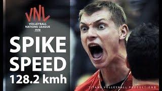TOP 10 Monster Spike by Konstantin Bakun | Spike Speed 128.2 kmh