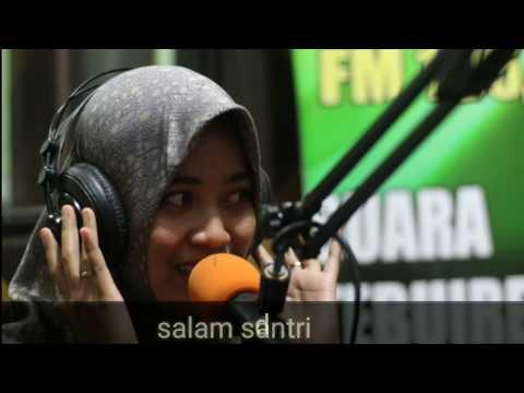 Jingle Muhasabatul Qolbi, live di radio suara tebuireng, 105.3 FM