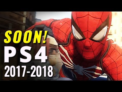 79 Upcoming PS4 Games of 2017-2018 | PlayStation 4 E3 2017 Update