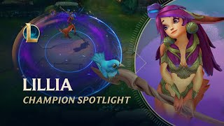 Lillia Champion Spotlight | Gameplay - League of Legends