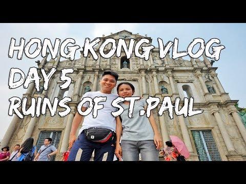 Hong Kong Vlog Day 5 | Ruins Of St Paul