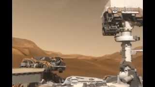 Curiosity, el explorador espacial aterrizó en Marte