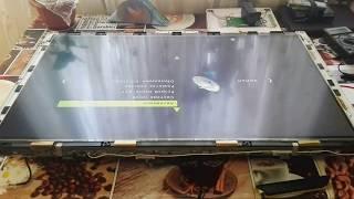 Восстановление матрицы LED телевизора (обрыв в матрице) ремонт телевизора MYSTERY