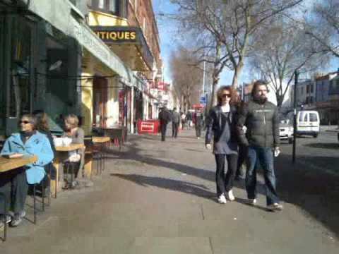 Walking Chiswick High Road London