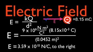 Electric Field: Calculating the Magnitude and Direction of the Electric Field