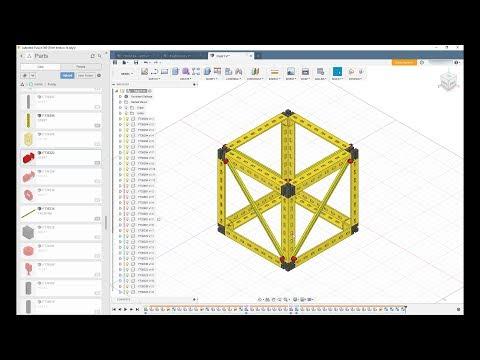 видео: Ферменные конструкции Fischertechnik S1E1
