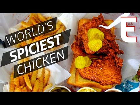 The Spiciest Hot Chicken is at Prince's in Nashville