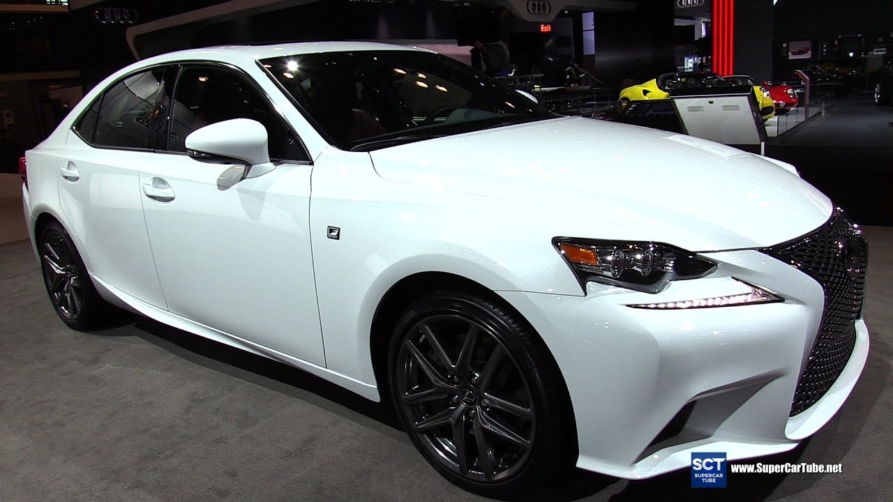 2016 Lexus Is 300 F Sport Awd Exterior And Interior Walkaround New York Auto Show