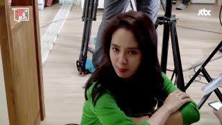 [Eng Sub] JTBC drama 이.아.바 Mywife Making Song Ji Hyo still pretty at the shooting scene