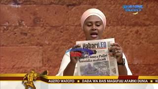 MAGAZETI AZAM TV 20/08/2018 - MORNING TRUMPET
