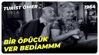 Turist Ömer - Rüknettin, Bedia'yı Kandırıyor! |  Sadri Alışık Yeşilçam Komedi Fi