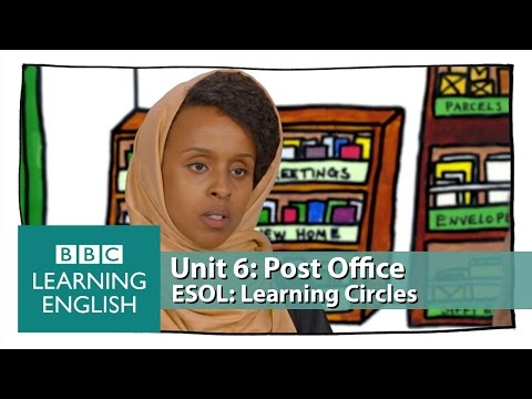 Learning Circles - Post Office: language you need for asking about times and prices.