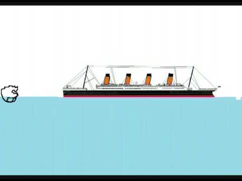 Titanic Sinking Animation Youtube