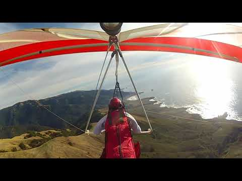 Tony flying Big Sur