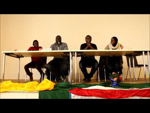 Gambian refugee activists discuss the political situation after the elections