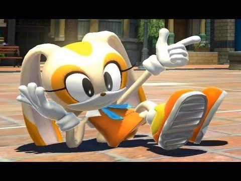 Cream The Rabbit In Sonic Generations