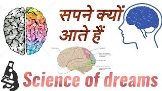 Science of Dreams { सपने आने के वैज्ञानिक कारण } 【Connection of dream with brain 】 || In Hindi ||