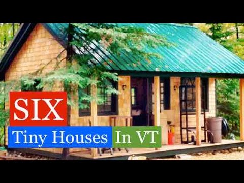 SIX Tiny Houses/Cabins in VT (Jamaica Cottage Shop Tour w/Deek)