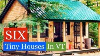 Six Tiny Houses/cabins In Vt Jamaica Cottage Shop Tour W/deek